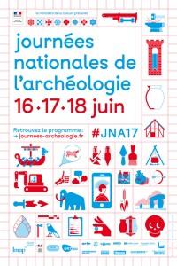 MA Actualites affiche JNA17 200x300 Découvrez larchéologie au musée de lArmée à loccasion des Journées nationales de larchéologie les 16, 17 et 18 juin