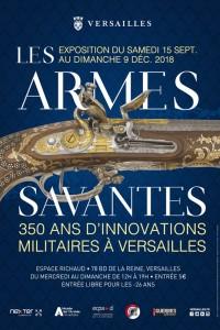 MA Actualites affiche armes savantes 200x300 Exposition « Les Armes savantes – 350 ans d'innovations militaires » à Versailles