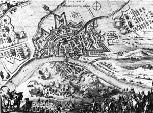 Siège de Montauban (1621), par Mérian (1646)